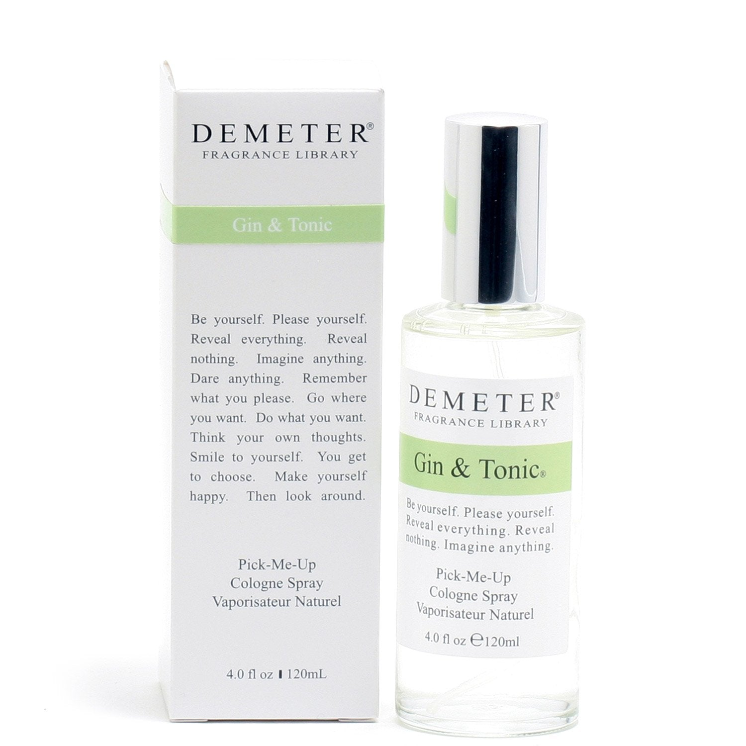 Cologne - DEMETER GIN & TONIC FOR MEN - COLOGNE SPRAY, 4.0 OZ