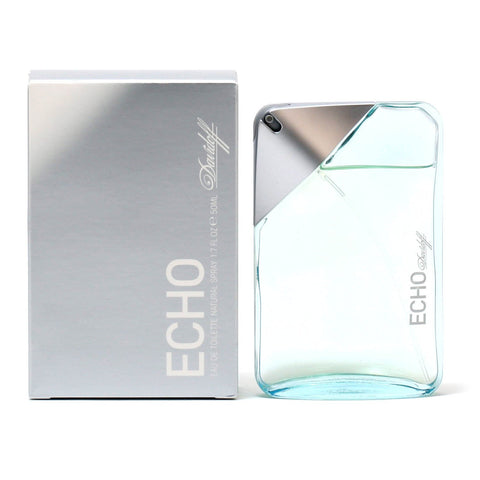 Cologne - ECHO FOR MEN BY DAVIDOFF - EAU DE TOILETTE SPRAY, 1.7 OZ