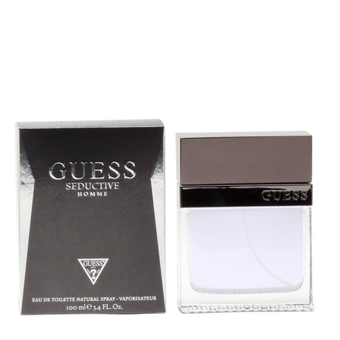 Cologne - GUESS SEDUCTIVE FOR MEN - EAU DE TOILETTE SPRAY, 3.4 OZ