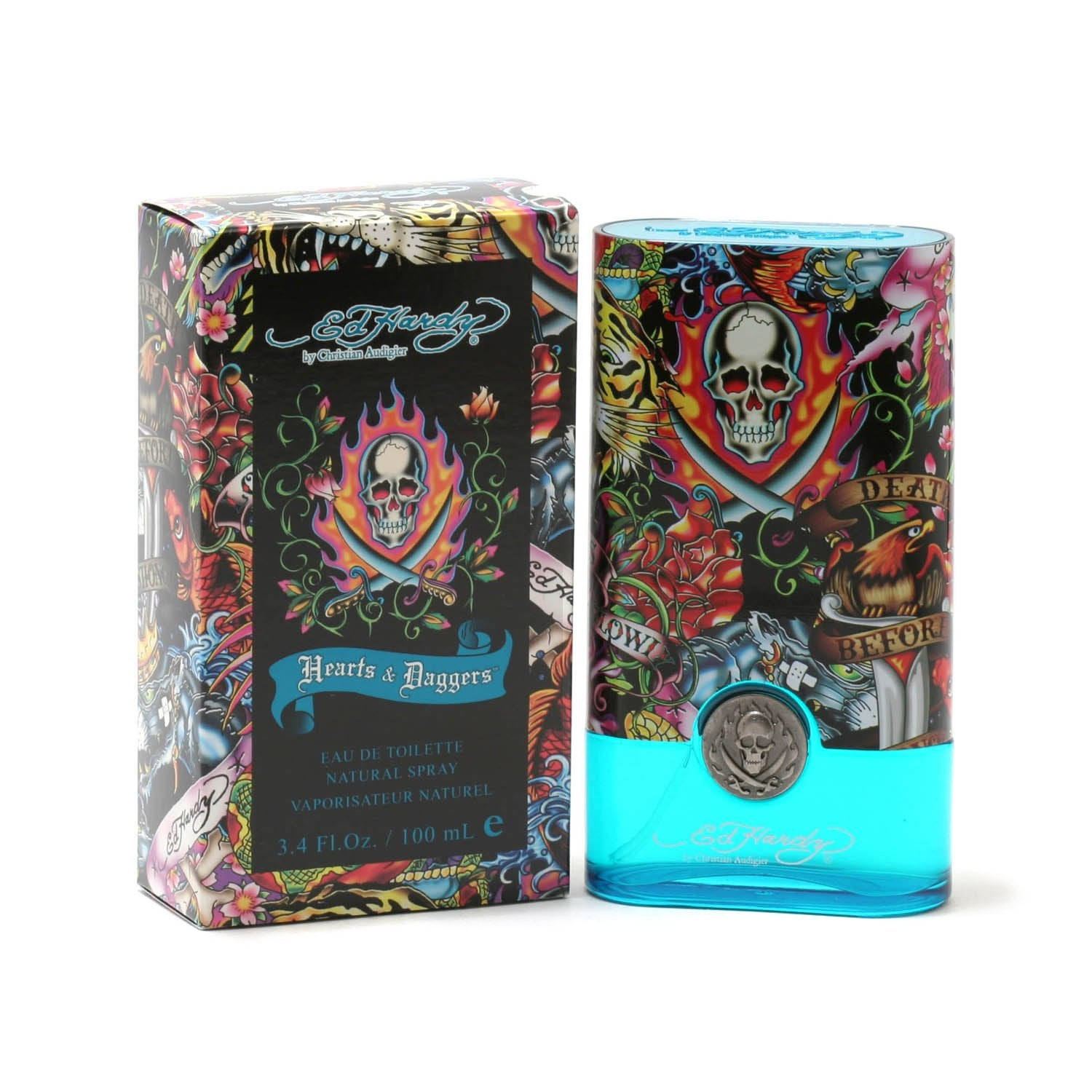 Ed Hardy By For Men Eau De Toilette Spray 3 4 Ounces: HEARTS AND DAGGERS FOR MEN BY ED HARDY