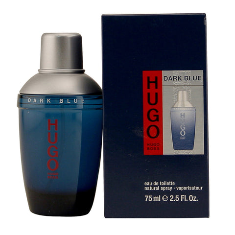 Cologne - HUGO DARK BLUE FOR MEN BY HUGO BOSS - EAU DE TOILETTE SPRAY, 2.5 OZ