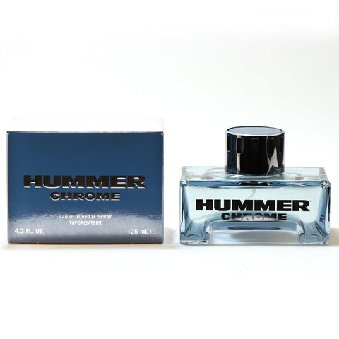 Cologne - HUMMER CHROME FOR MEN - EAU DE TOILETTE SPRAY, 4.2 OZ