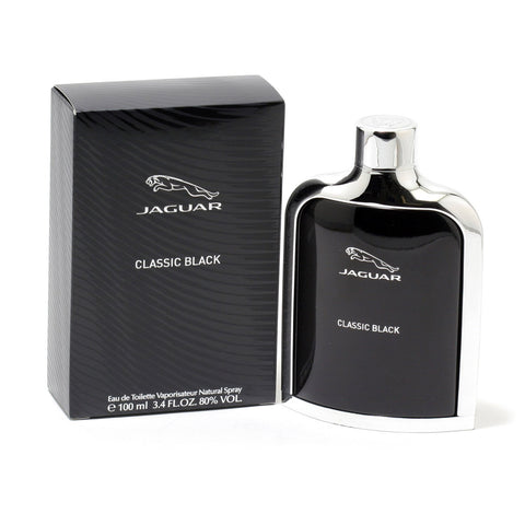 Cologne - JAGUAR CLASSIC BLACK FOR MEN - EAU DE TOILETTE SPRAY, 3.4 OZ