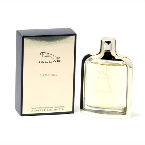 Cologne - JAGUAR GOLD FOR  MEN - EAU DE TOILETTE SPRAY, 3.4 OZ
