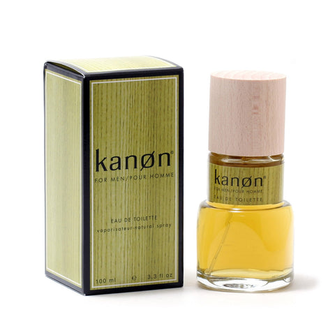 Cologne - KANON FOR MEN - EAU DE TOILETTE SPRAY, 3.4 OZ