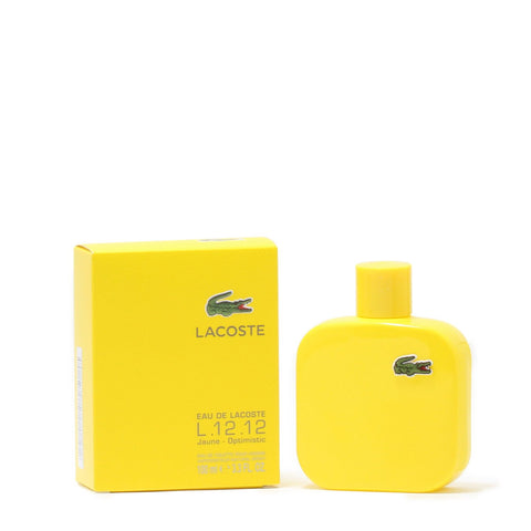 Cologne - LACOSTE EAU DE LACOSTE L.12.12 JAUNE FOR MEN - EAU DE TOILETTE SPRAY, 3.4 OZ