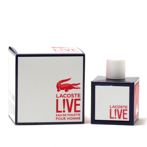 Cologne - LACOSTE LIVE FOR MEN - EAU DE TOILETTE SPRAY, 3.4 OZ