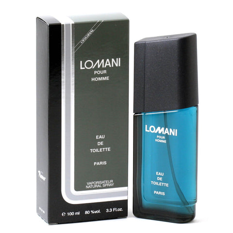 Cologne - LOMANI POUR HOMME FOR MEN BY LOMANI - EAU DE TOILETTE SPRAY, 3.4 OZ