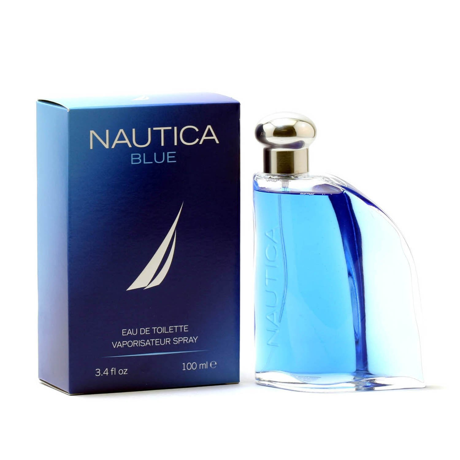 Cologne - NAUTICA BLUE FOR MEN - EAU DE TOILETTE SPRAY, 3.4 OZ