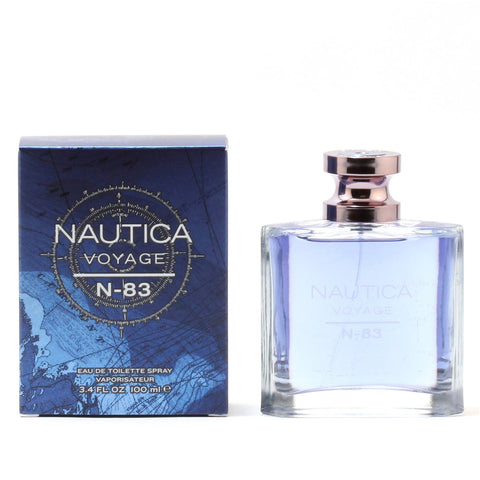 Cologne - NAUTICA VOYAGE N-83 FOR MEN - EAU DE TOILETTE SPRAY, 3.4 OZ