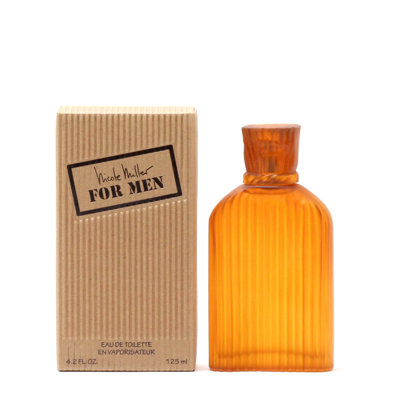 Cologne - NICOLE MILLER FOR MEN - EAU DE TOILETTE SPRAY, 4.2 OZ