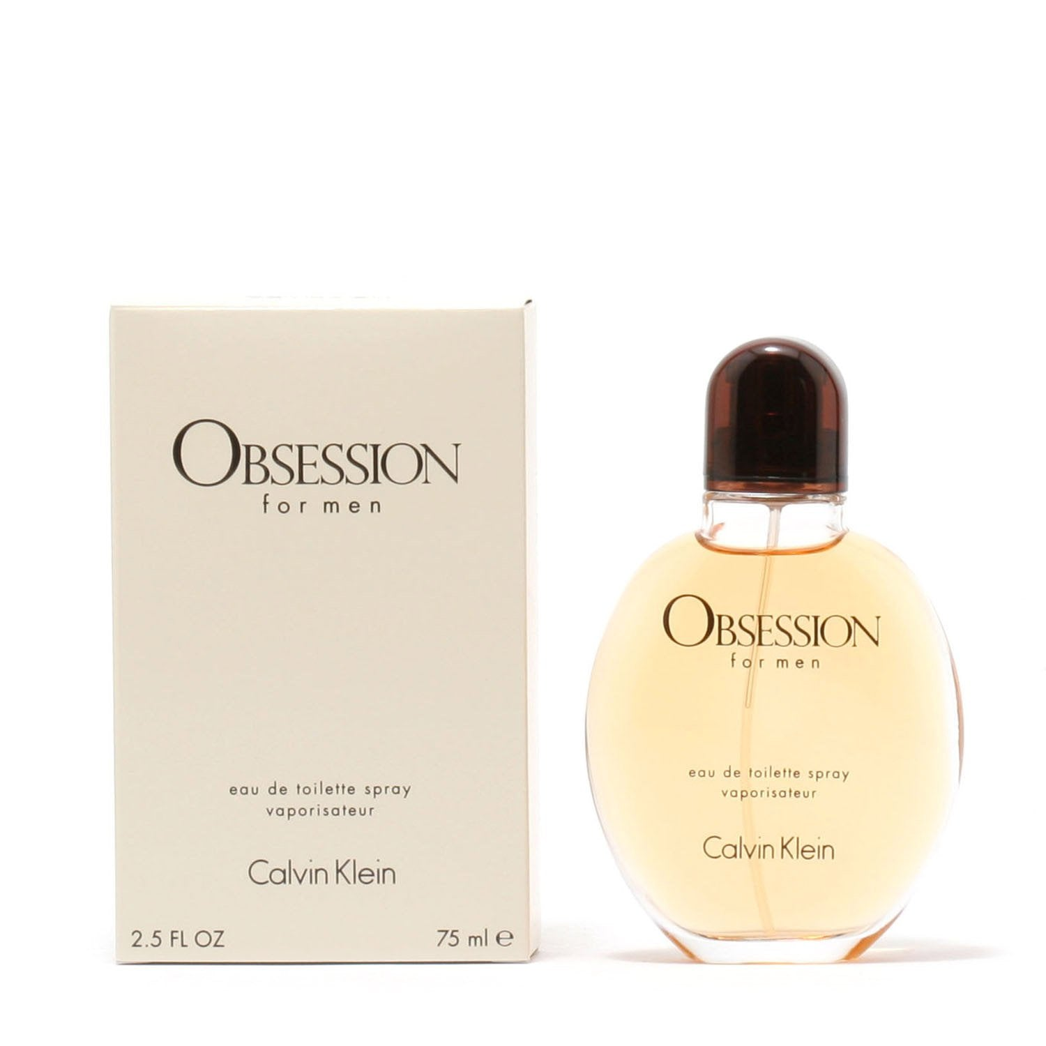 Cologne - OBSESSION FOR MEN BY CALVIN KLEIN - EAU DE TOILETTE SPRAY
