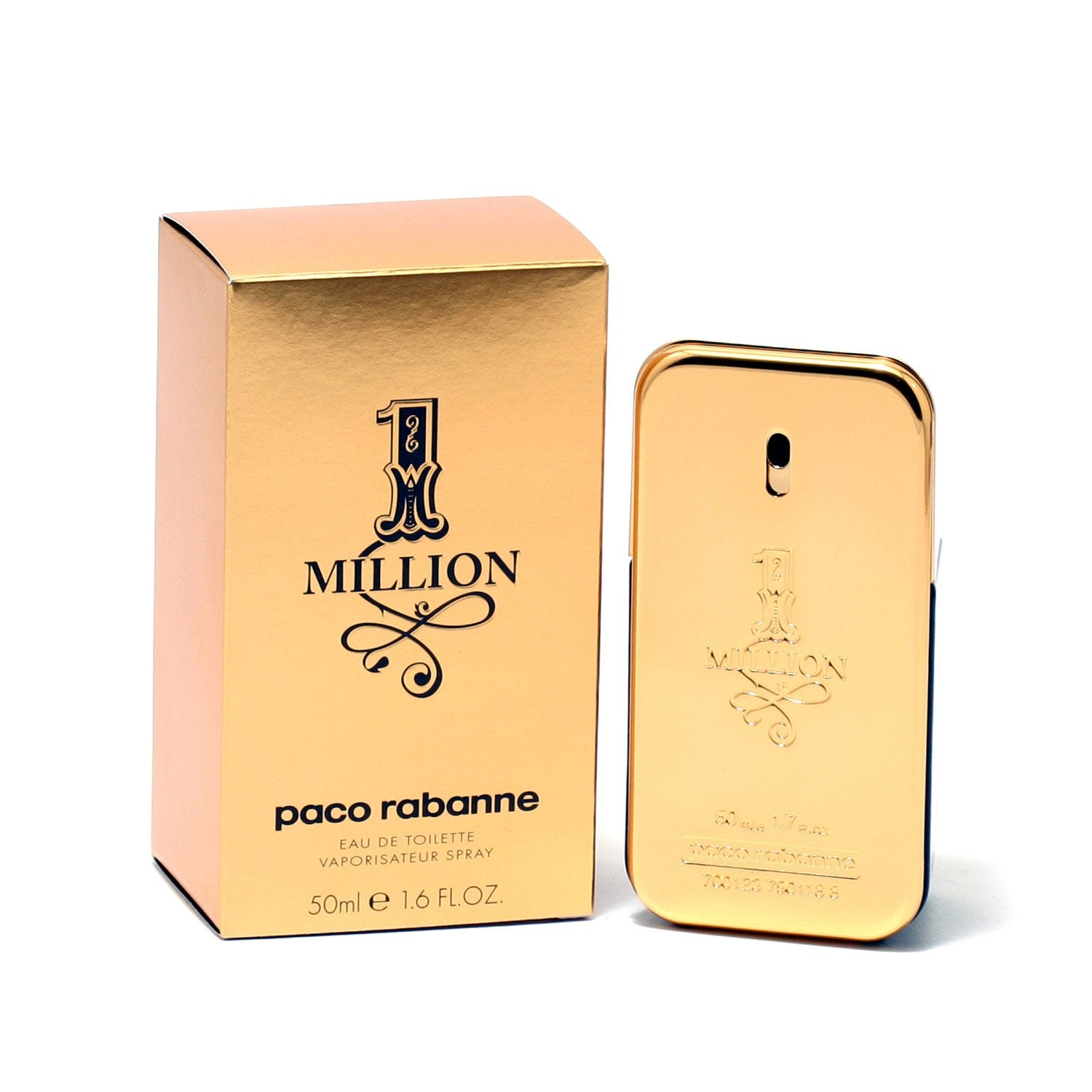 Cologne - ONE MILLION FOR MEN BY PACO RABANNE - EAU DE TOILETTE SPRAY