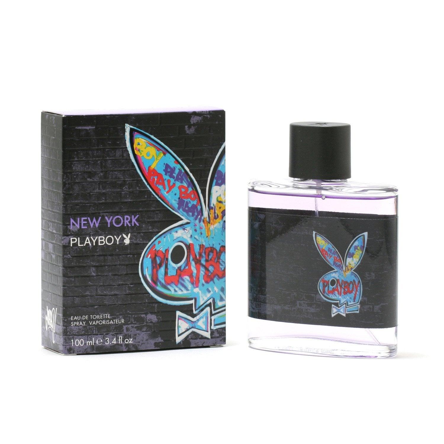 Cologne - PLAYBOY NEW YORK FOR MEN - EAU DE TOILETTE SPRAY, 3.4 OZ