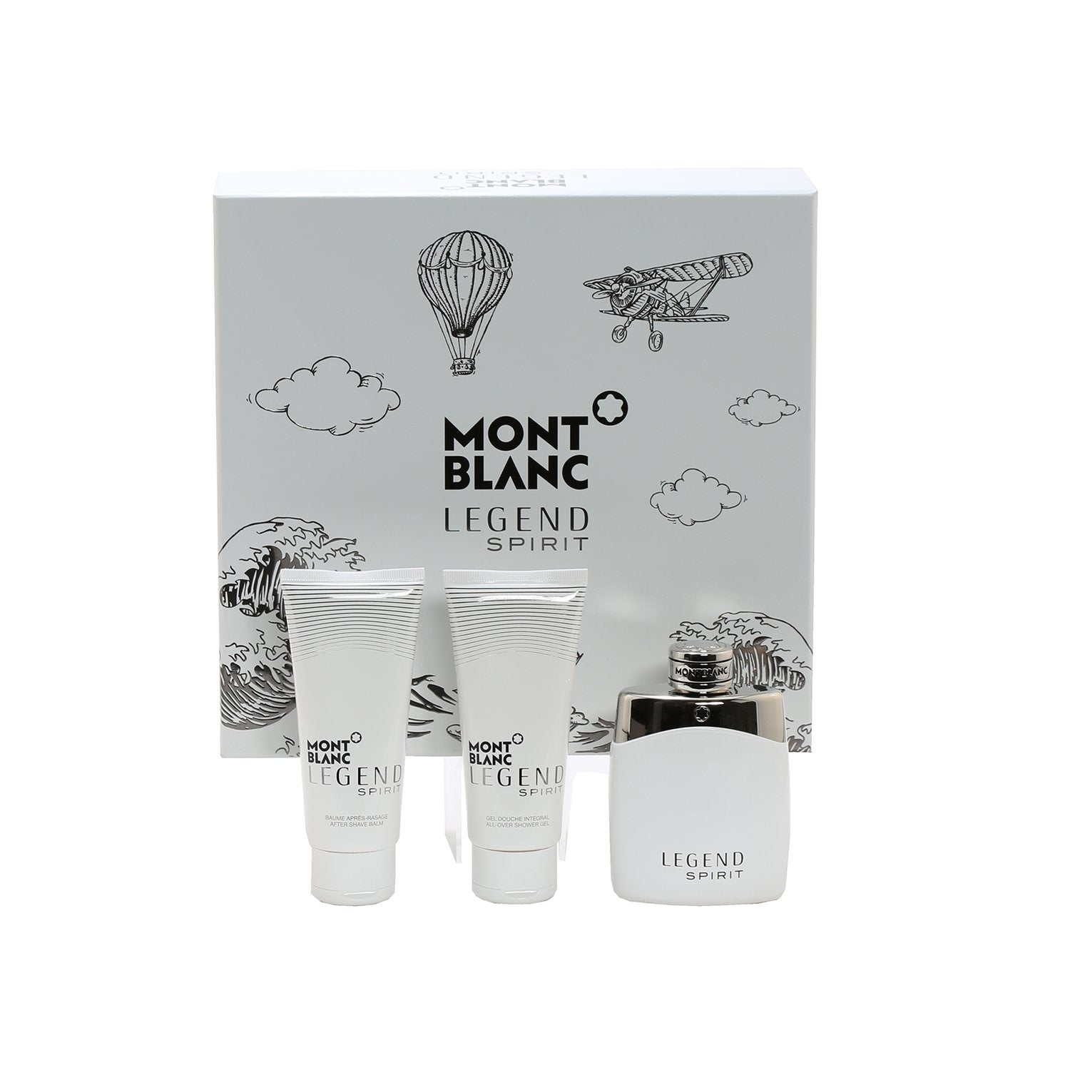 Cologne Sets - MONT BLANC LEGEND SPIRIT FOR MEN - GIFT SET