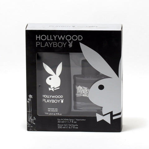 Cologne Sets - PLAYBOY HOLLYWOOD FOR MEN - SHOWER GIFT SET