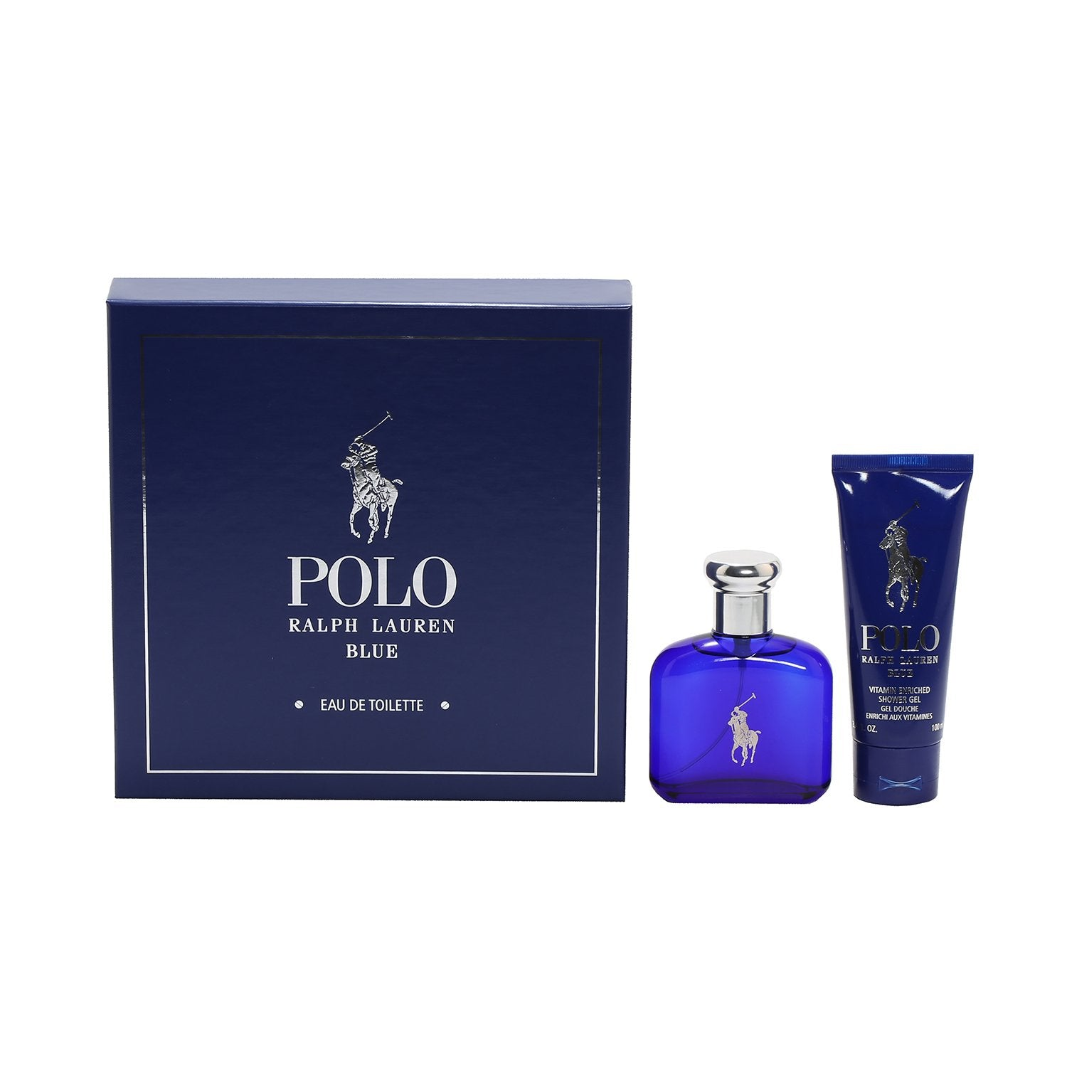 Cologne Sets - RALPH LAUREN POLO BLUE FOR MEN - GIFT SET