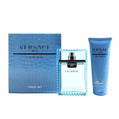 Cologne Sets - VERSACE MAN EAU FRAICHE - TRAVEL GIFT SET