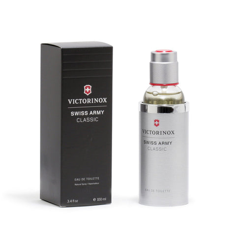 Cologne - SWISS ARMY CLASSIC FOR MEN - EAU DE TOILETTE SPRAY, 3.4 OZ