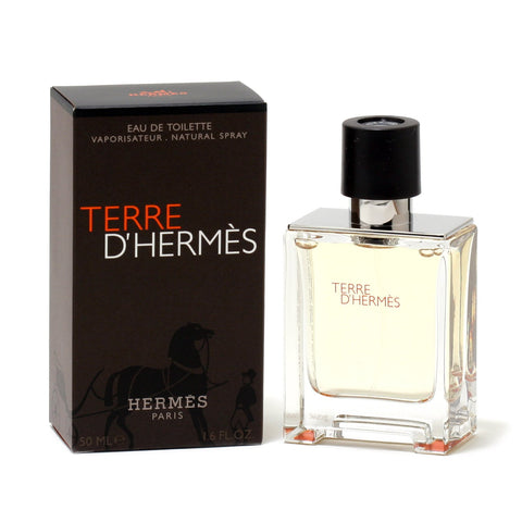 Cologne - TERRE D'HERMES FOR MEN - EAU DE TOILETTE SPRAY