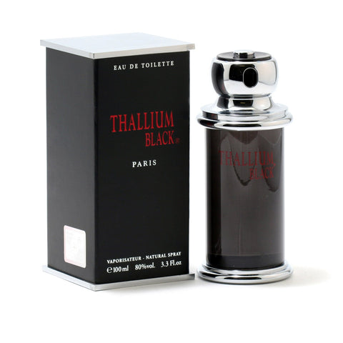 Cologne - THALLIUM BLACK FOR MEN BY JACQUES EVARD - EAU DE TOILETTE SPRAY, 3.3 OZ