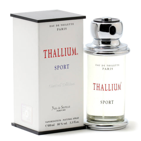 Cologne - THALLIUM SPORT FOR MEN BY JACQUES EVARD - EAU DE TOILETTE SPRAY, 3.3 OZ