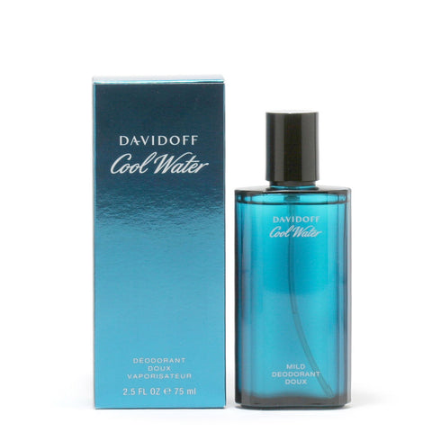 Deodorant - COOL WATER FOR MEN BY DAVIDOFF - DEODORANT SPRAY, 2.5 OZ