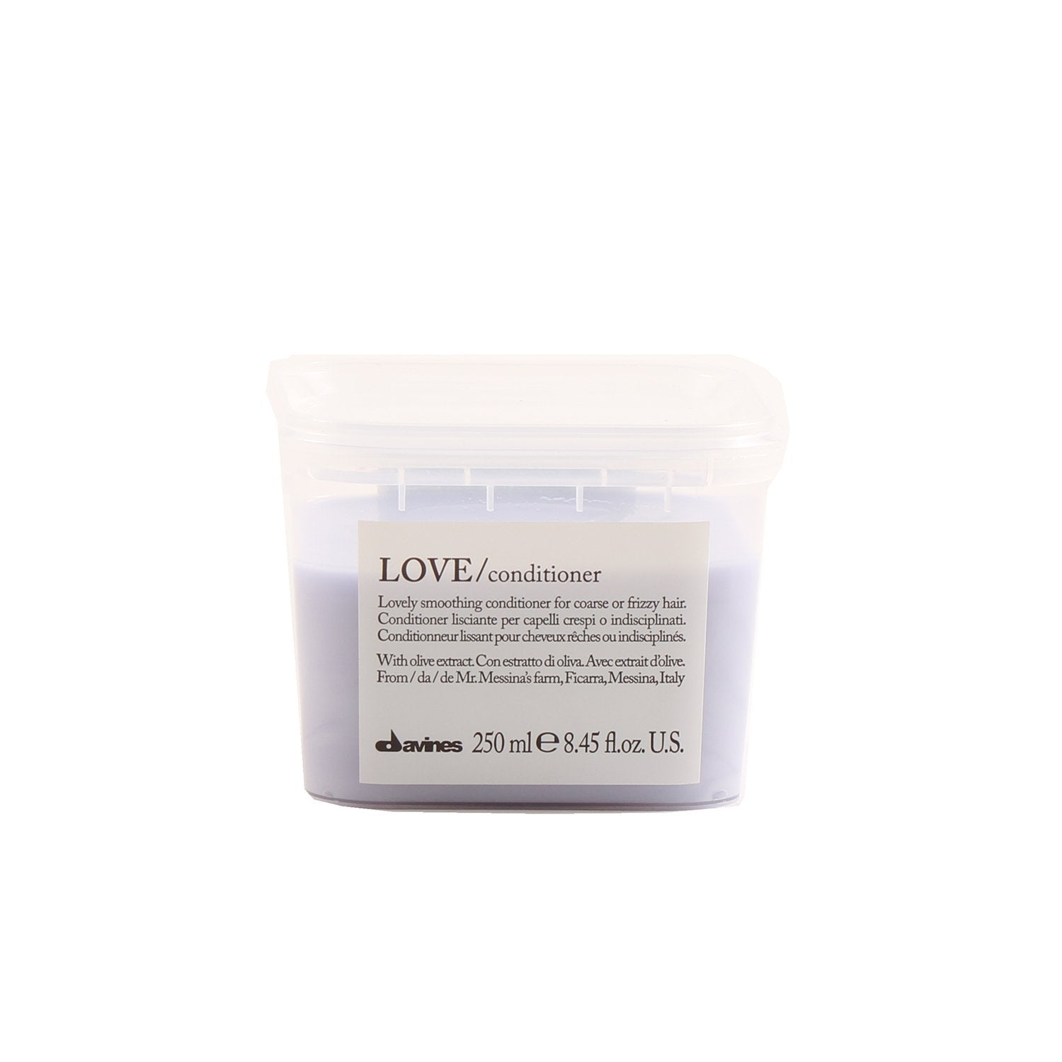 Hair Care - DAVINES LOVE SMOOTHING CONDITIONER, 8.45 OZ