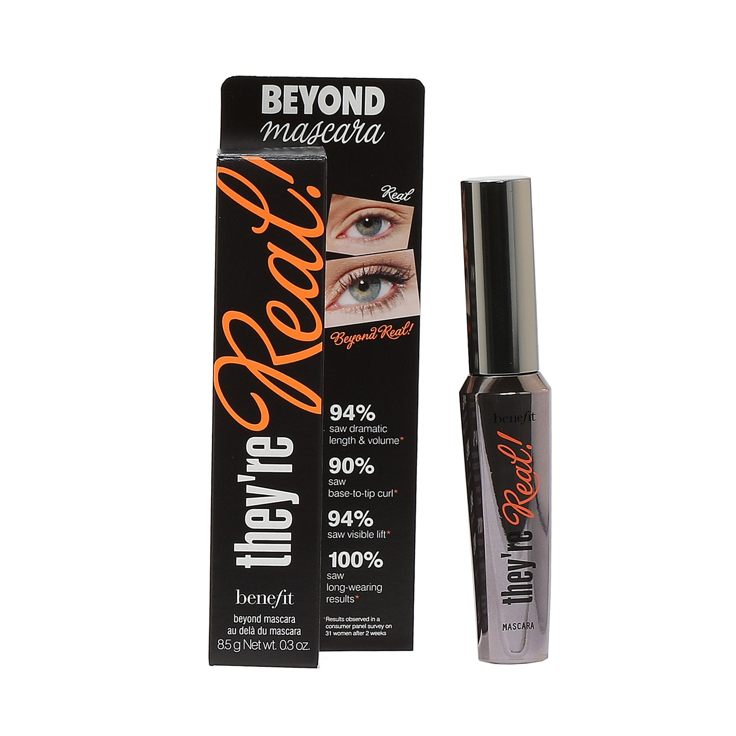 Makeup - BENEFIT COSMETICS THEY'RE REAL MASCARA - JET BLACK