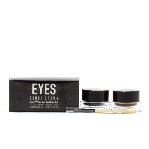 Makeup - BOBBI BROWN LONG-WEAR GEL EYELINER SET
