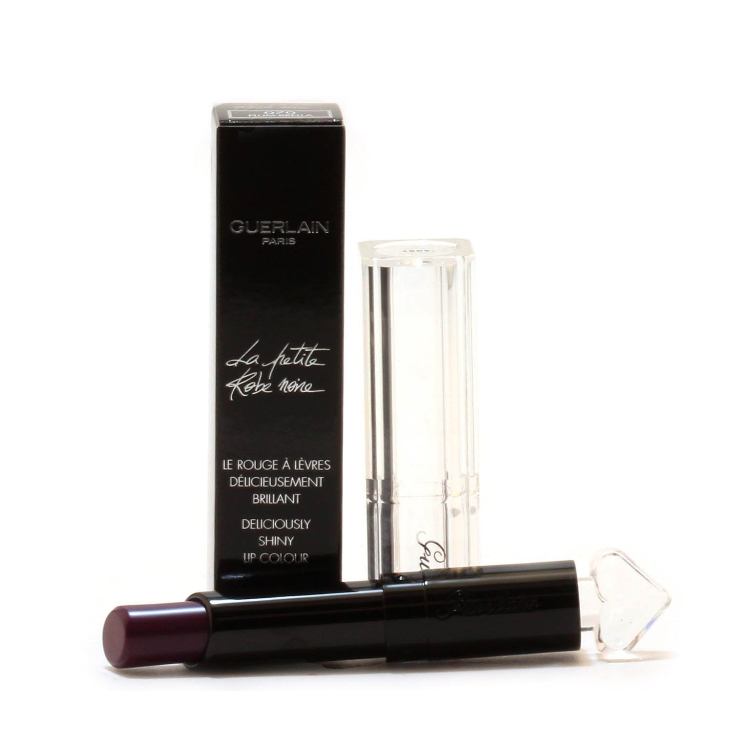 Makeup - GUERLAIN LA PETITE ROBE NOIR SHINY LIP COLOUR - PLUM BRELLA