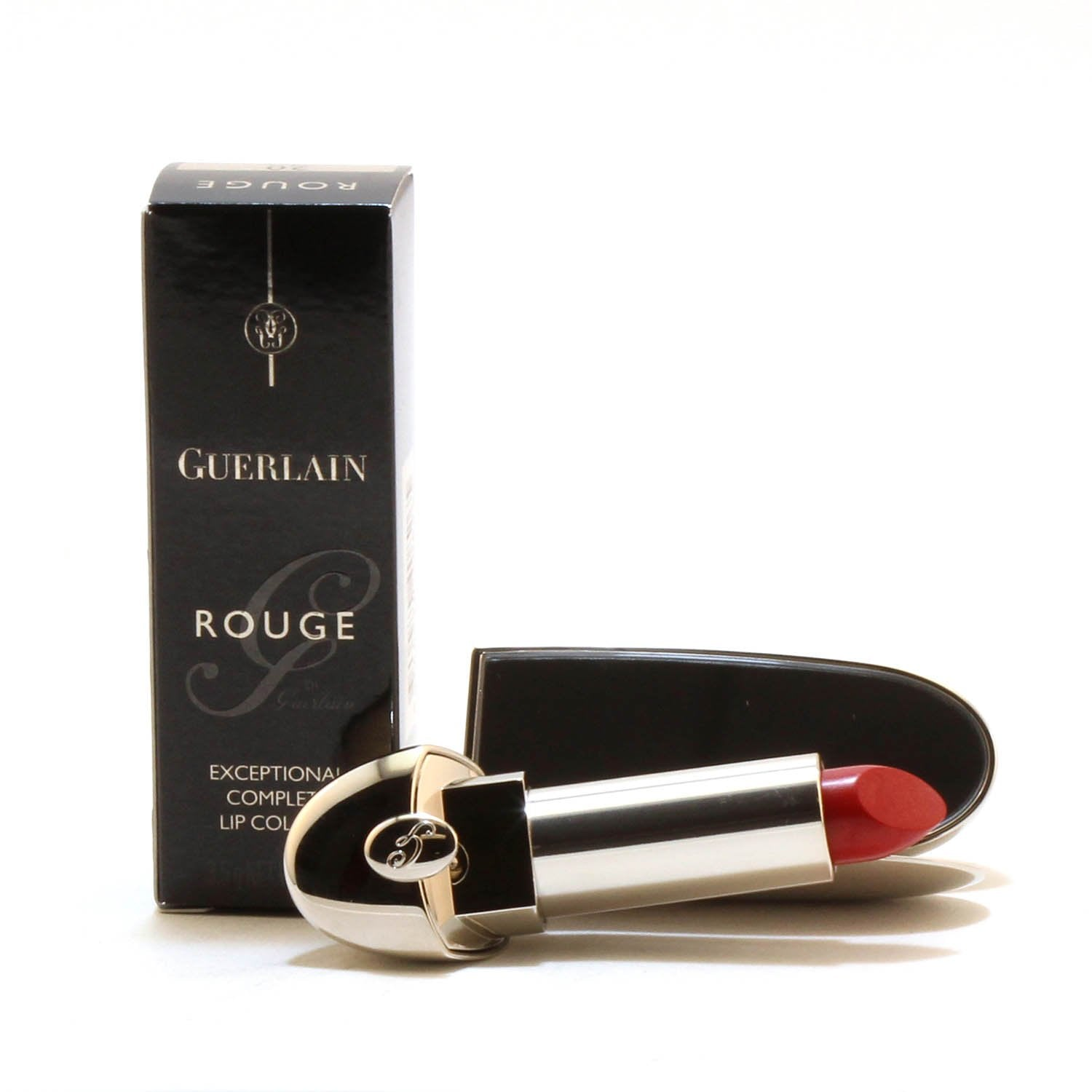 Makeup - GUERLAIN ROUGE G DE GUERLAIN EXCEPTIONAL COMPLETE LIP COLOUR - GINA