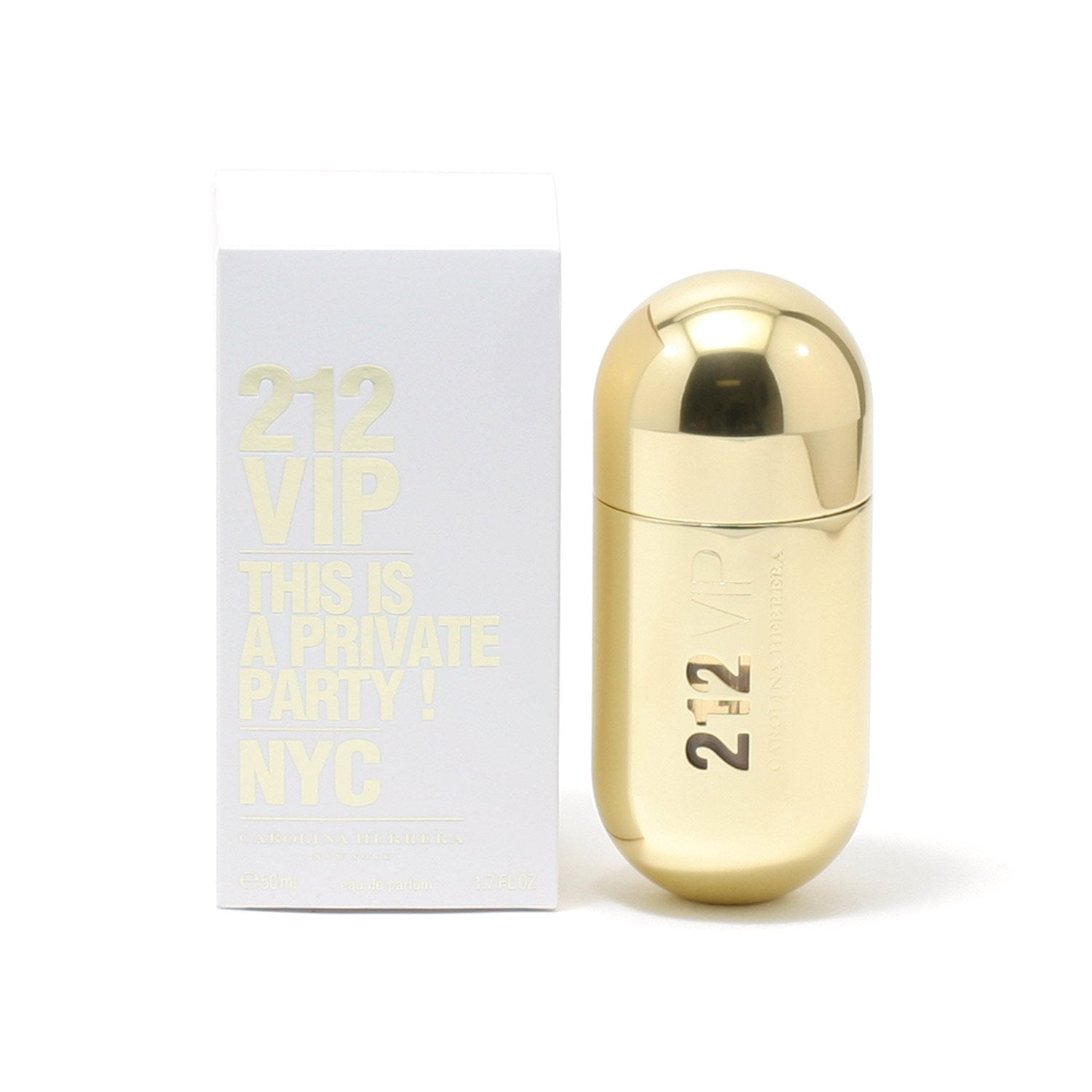 Perfume - 212 VIP FOR WOMEN BY CAROLINA HERRERA - EAU DE PARFUM SPRAY