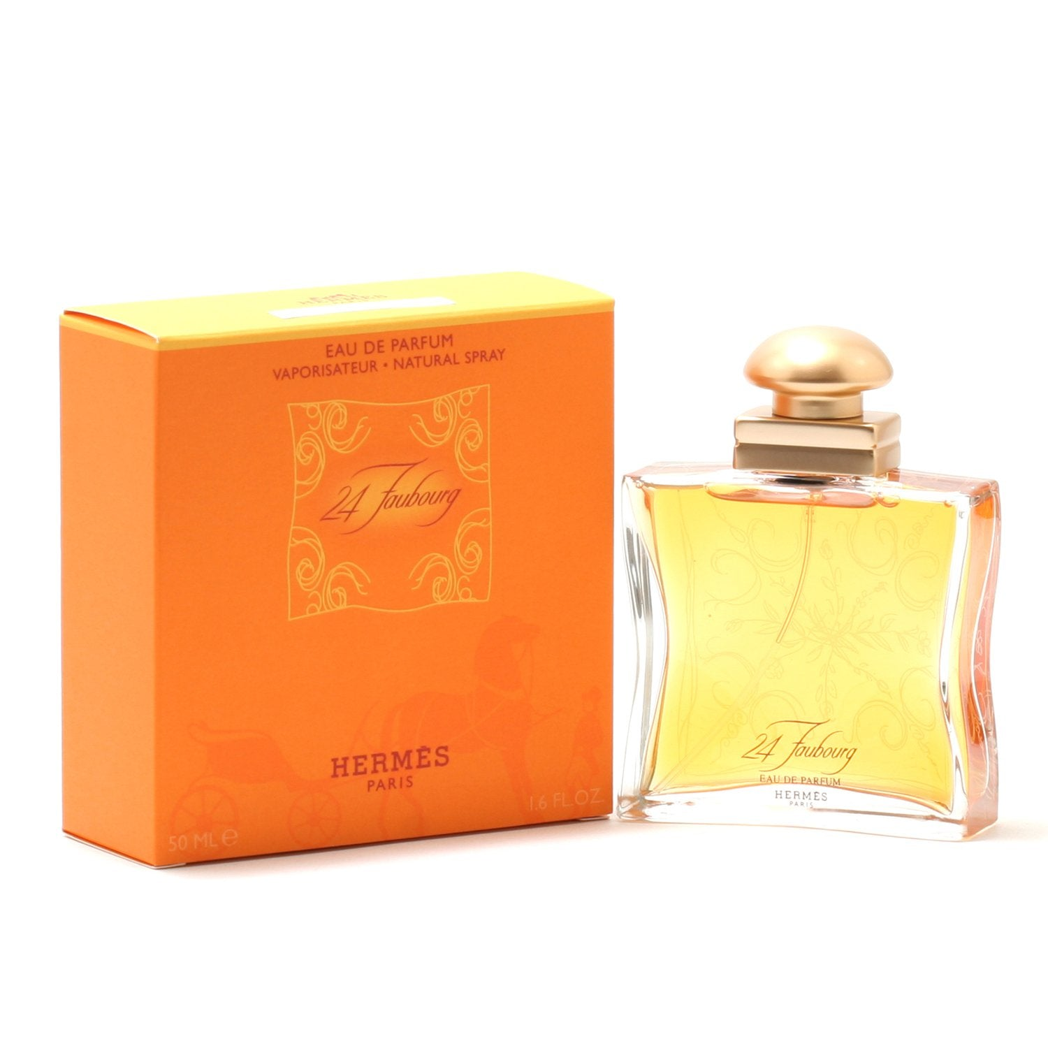 Perfume - 24 FAUBOURG FOR WOMEN BY HERMES - EAU DE PARFUM SPRAY, 1.6 OZ