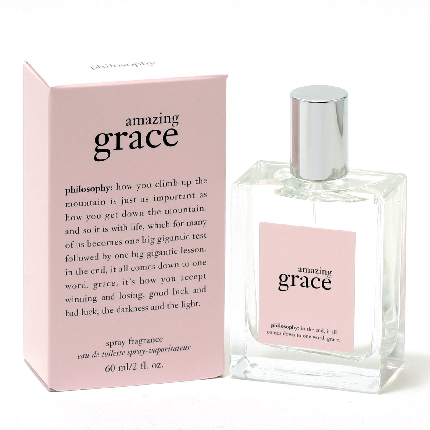 Perfume - AMAZING GRACE FOR WOMEN BY PHILOSOPHY - EAU DE TOILETTE SPRAY, 2.0 OZ