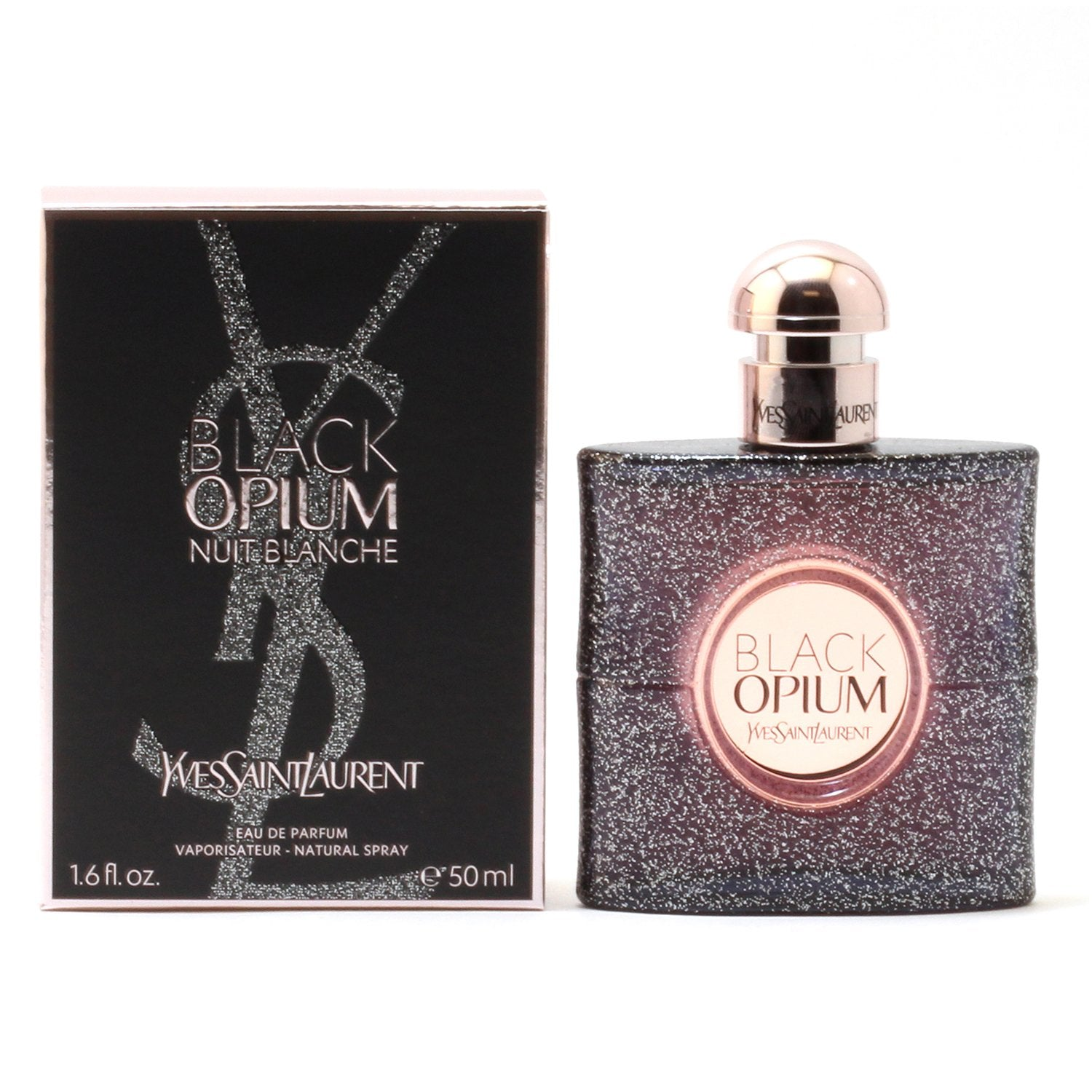 Perfume - BLACK OPIUM NUIT BLANCHE FOR WOMEN BY YVES ST LAURENT - EAU DE PARFUM SPRAY, 1.7 OZ