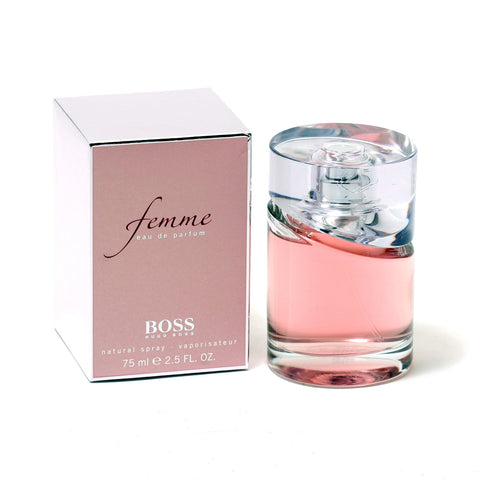Perfume - BOSS FEMME BY HUGO BOSS - EAU DE PARFUM SPRAY