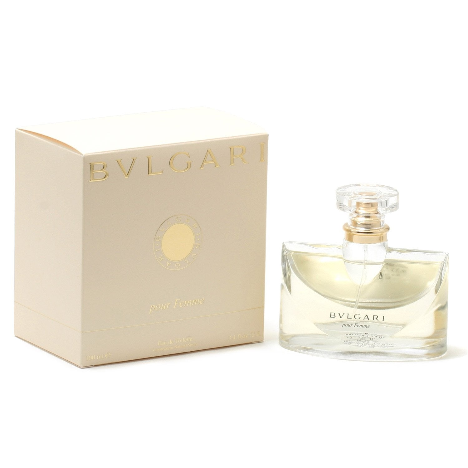 Perfume - BVLGARI FOR WOMEN - EAU DE TOILETTE SPRAY