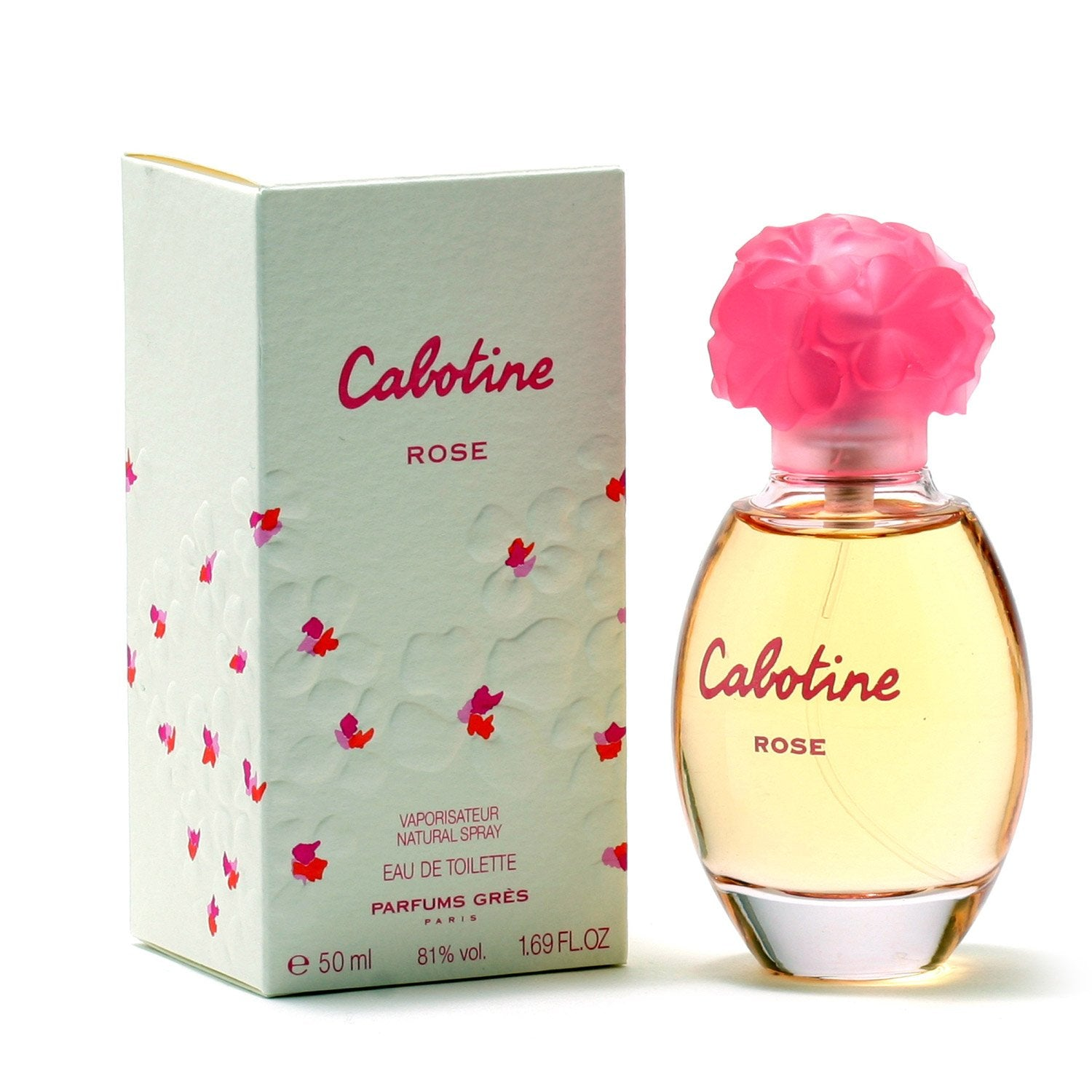 Perfume - CABOTINE ROSE FOR WOMEN BY PARFUMS GRES - EAU DE TOILETTE SPRAY