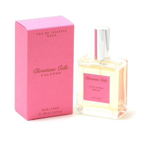 Perfume - CALYPSO ROSE FOR WOMEN BY CHRISTIANE CELLE - EAU DE TOILETTE SPRAY, 3.4 OZ