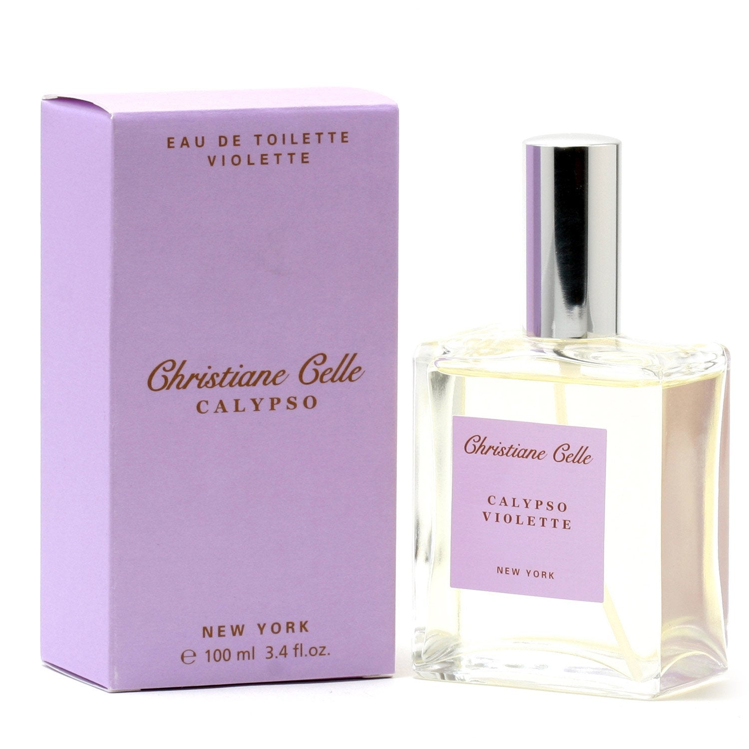 Perfume - CALYPSO VIOLETTE FOR WOMEN BY CHRISTIANE CELLE - EAU DE TOILETTE SPRAY, 3.4 OZ