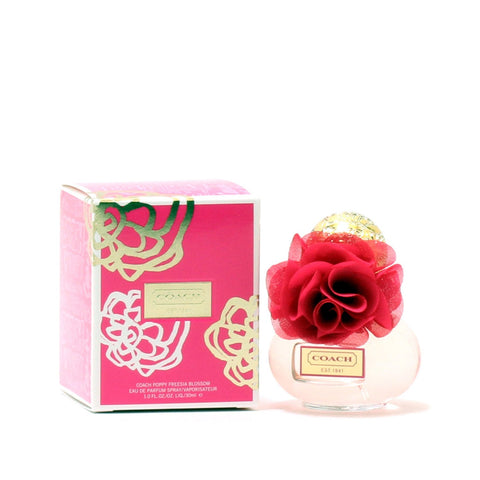 Perfume - COACH POPPY FREESIA BLOSSOM FOR WOMEN - EAU DE PARFUM SPRAY, 1.0 OZ