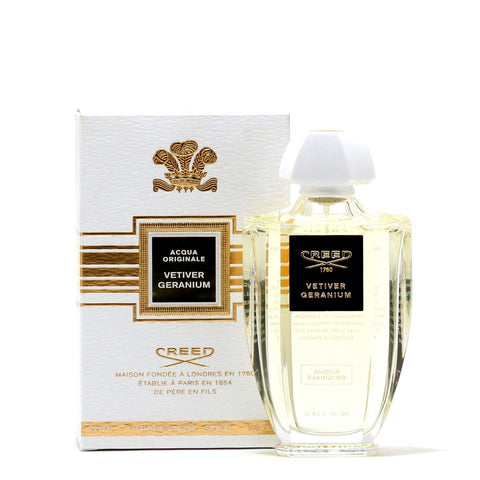 Perfume - CREED ACQUA ORIGINALE VETIVER GERANIUM UNISEX - EAU DE PARFUM SPRAY, 3.4 OZ