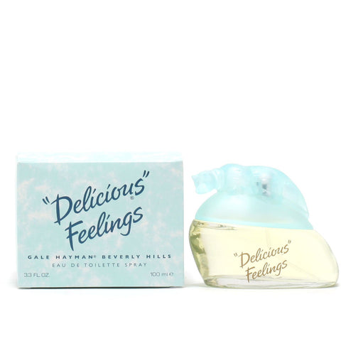 Perfume - DELICIOUS FEELINGS FOR WOMEN BY GALE HAYMAN - EAU DE TOILETTE SPRAY, 3.3 OZ