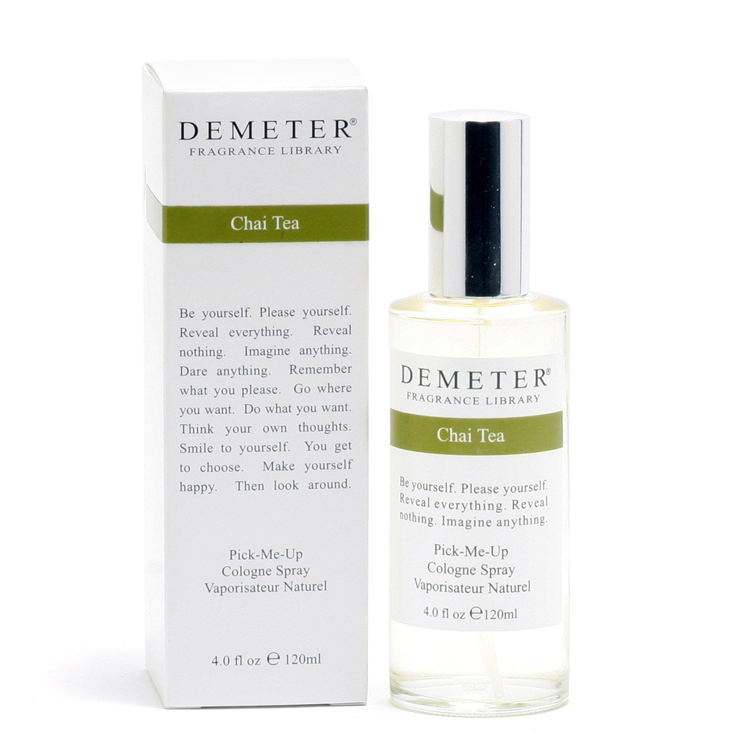 Perfume - DEMETER CHAI TEA FOR WOMEN - COLOGNE SPRAY, 4.0 OZ
