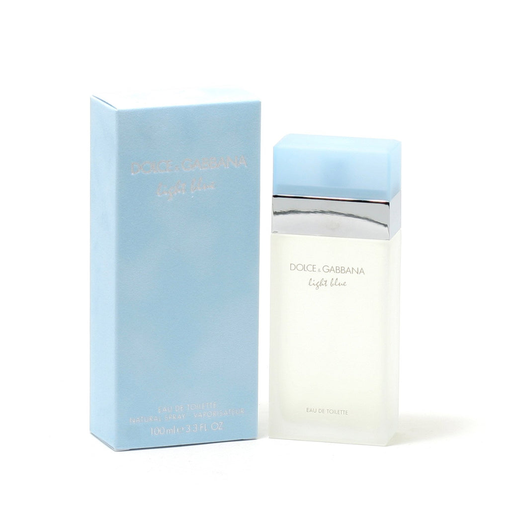 8c77824b5 DOLCE & GABBANA LIGHT BLUE FOR WOMEN - EAU DE TOILETTE SPRAY – Fragrance  Room