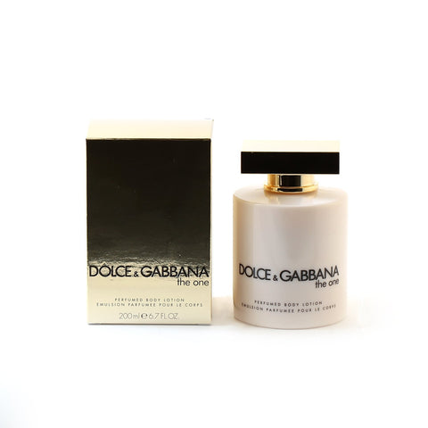 Perfume - DOLCE & GABBANA THE ONE FOR WOMEN - BODY LOTION, 6.7 Oz