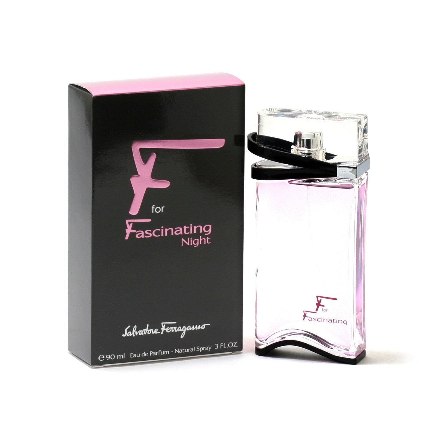 Perfume - F FOR FASCINATING NIGHT FOR WOMEN BY SALVATORE FERRAGAMO - EAU DE PARFUM SPRAY, 3.0 OZ