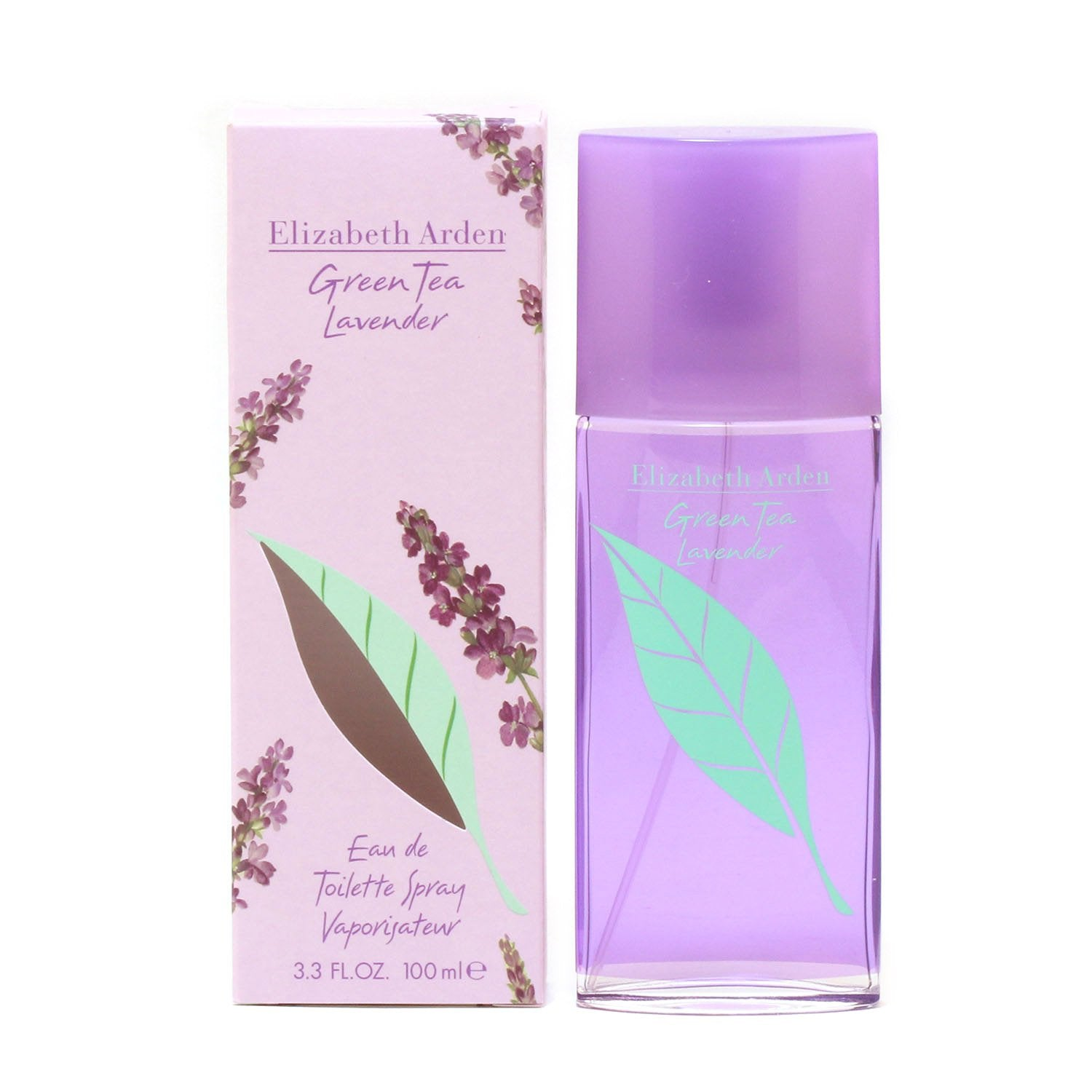 Perfume - GREEN TEA LAVENDER FOR WOMEN BY ELIZABETH ARDEN - EAU DE TOILETTE SPRAY, 3.3 OZ