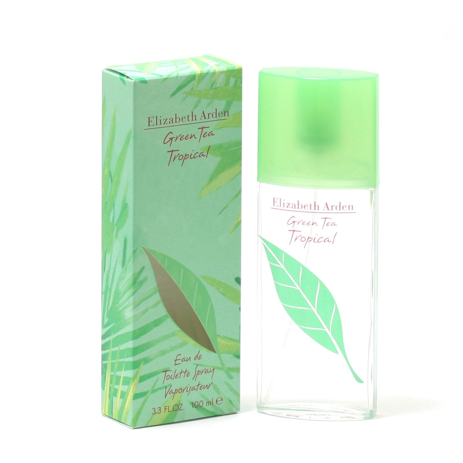 Perfume - GREEN TEA TROPICAL FOR WOMEN BY ELIZABETH ARDEN - EAU DE TOILETTE SPRAY, 3.3 OZ